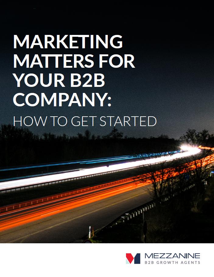 Marketing Matter Cover